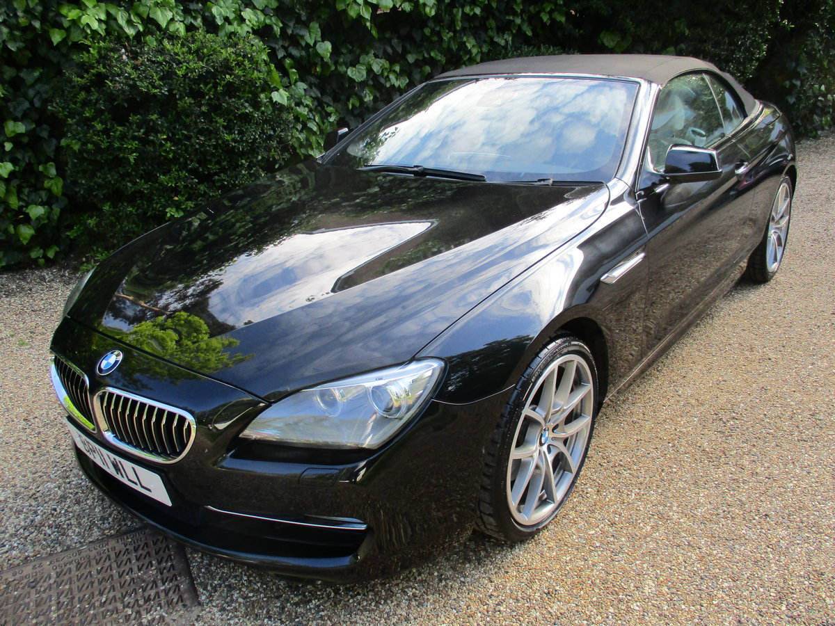 2011 FOR THE SERIOUS BMW COLLECTOR - 640SE Conv Auto For Sale (picture 1 of 6)