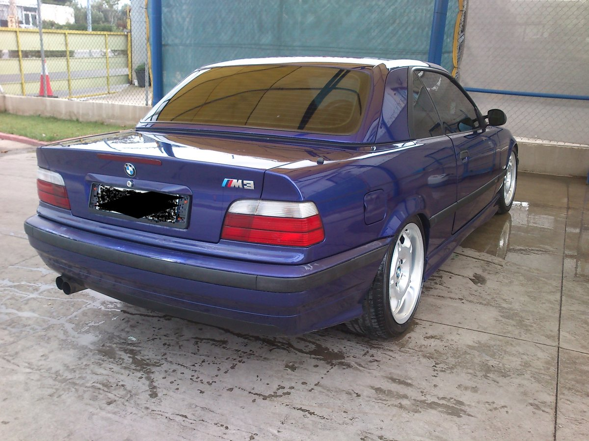 1997 BMW E36 320/6 INDIVIDUAL CABRIOLET M PACK/HARDTOP For Sale (picture 2 of 6)