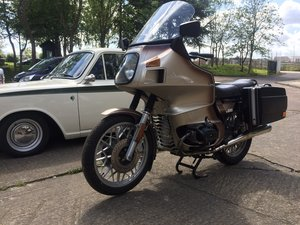 1979 BMW R65.....with a twist. SOLD