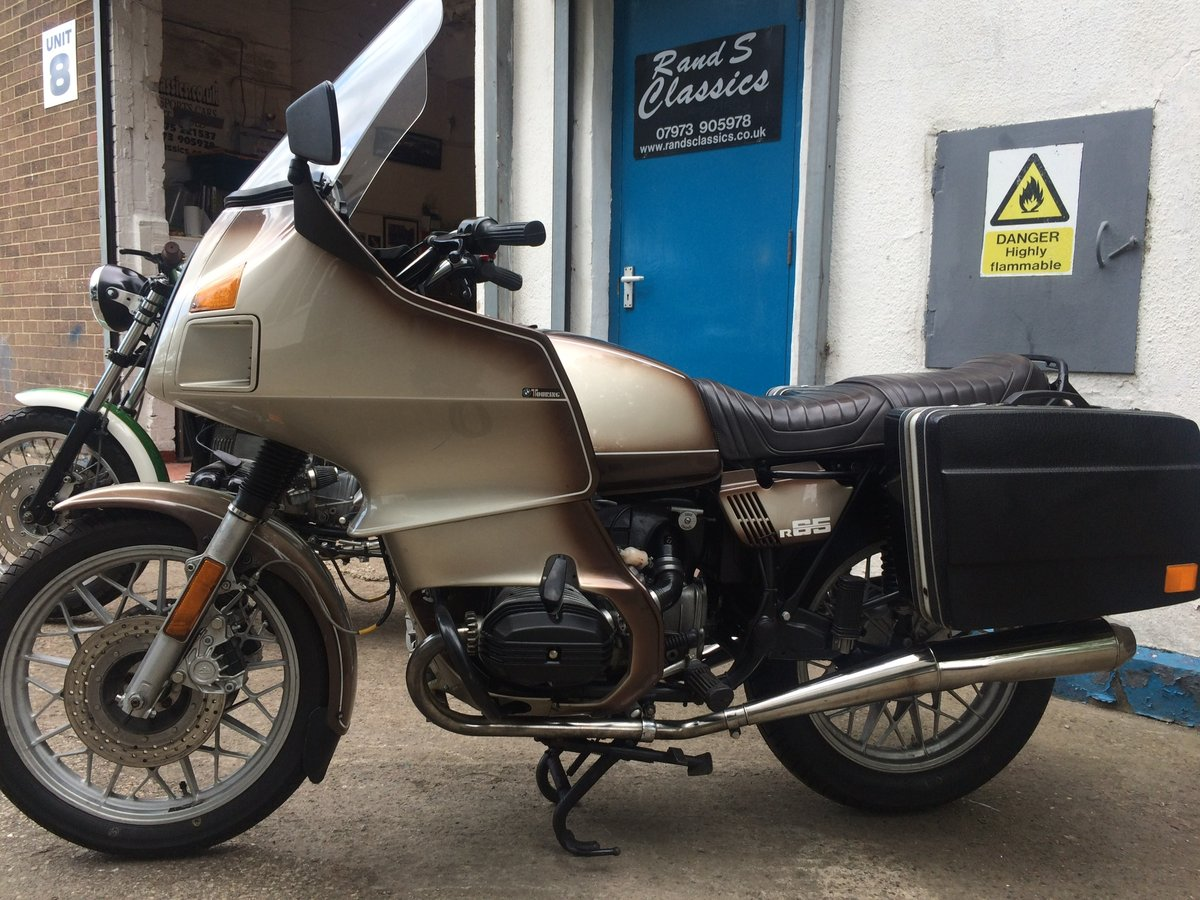 1979 BMW R65.....with a twist. SOLD (picture 2 of 6)