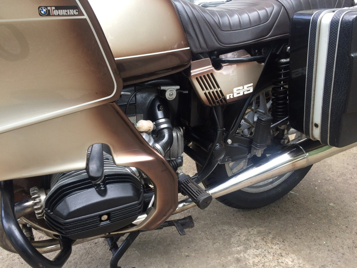 1979 BMW R65.....with a twist. SOLD (picture 3 of 6)