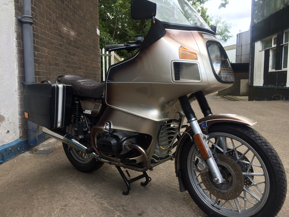 1979 BMW R65.....with a twist. SOLD (picture 5 of 6)