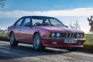 1987 BMW 635csi - Rarer Manual Gearbox For Sale