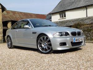 2003 BMW E46 M3 Coupe - 84k, manual, non sunroof, excellent