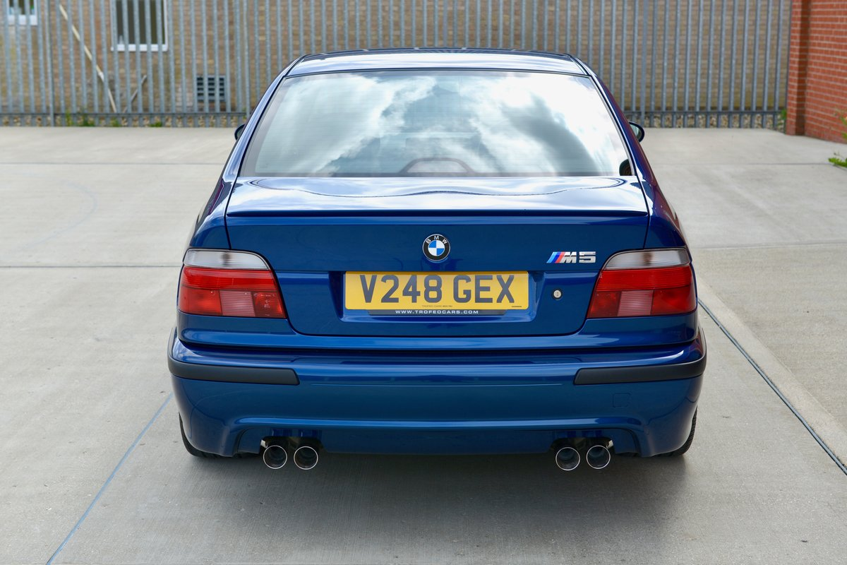 1999 BMW M5 (E39) - only 16,000 miles For Sale (picture 2 of 6)