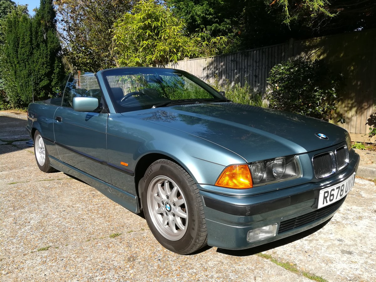 1997 BMW E36 328I Manual 12 months MOT For Sale (picture 1 of 6)