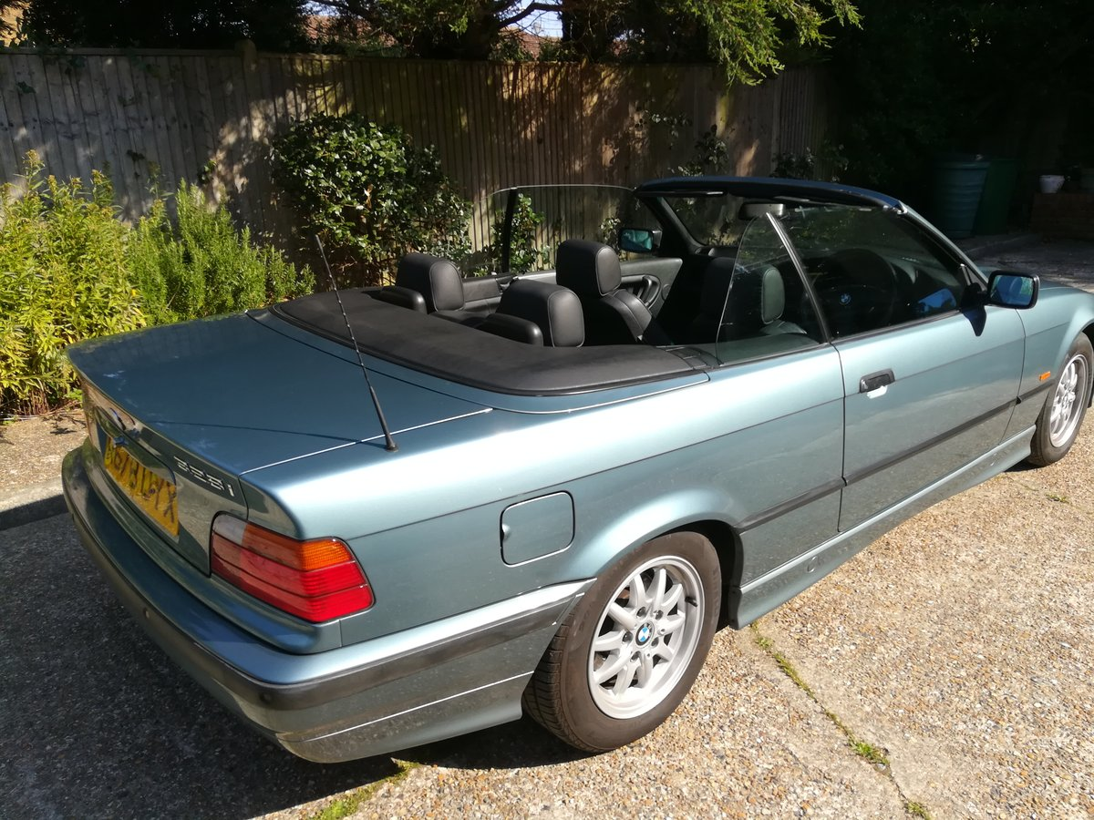 1997 BMW E36 328I Manual 12 months MOT For Sale (picture 2 of 6)