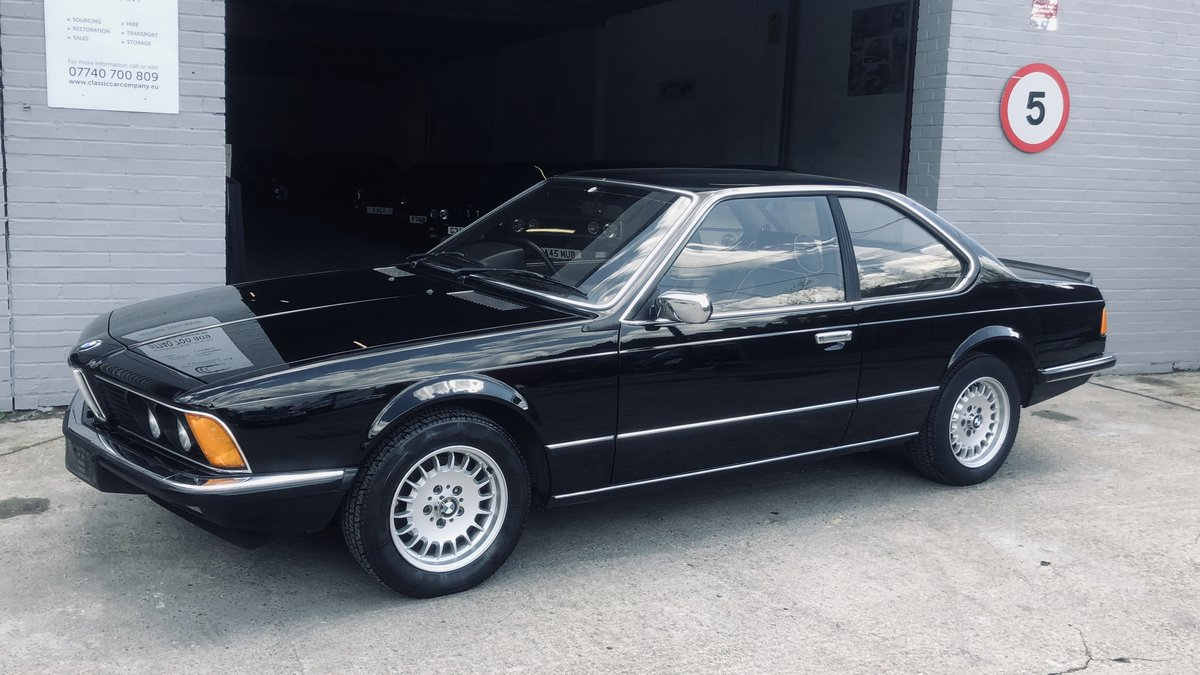 1984 BMW 628 CSI (E24) For Sale (picture 1 of 6)