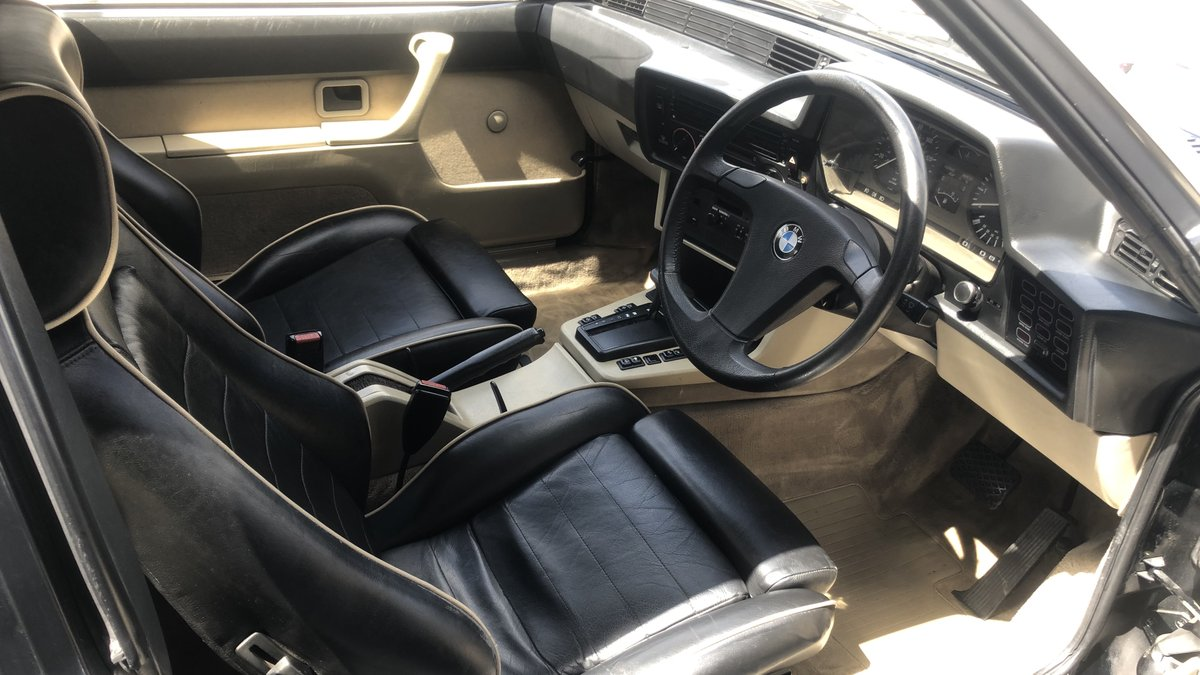1984 BMW 628 CSI (E24) For Sale (picture 4 of 6)