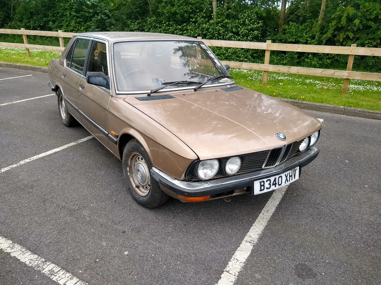 1984 BMW 525 E Park Lane and one lady owner from new SOLD by Auction (picture 1 of 6)