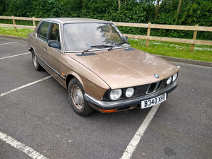 1984 BMW 525 E Park Lane and one lady owner from new SOLD by Auction