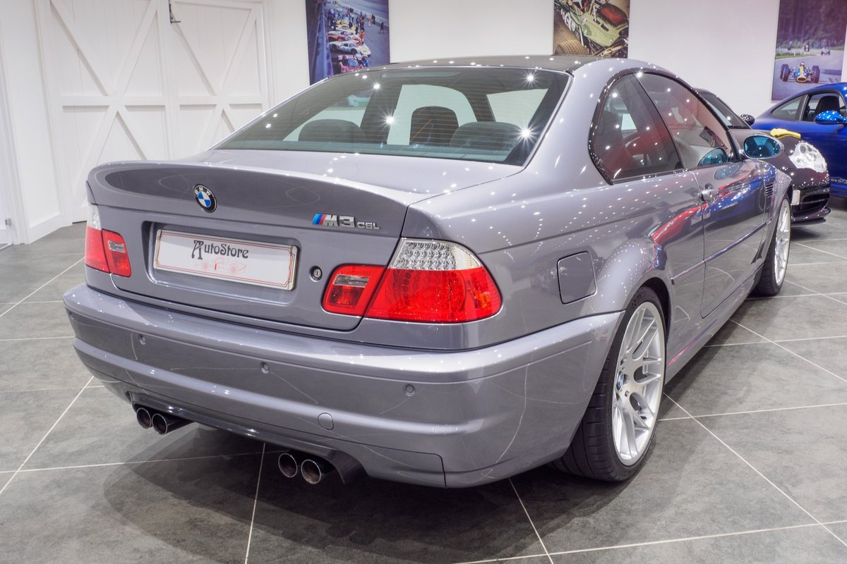 2003 BMW M3 CSL SOLD (picture 4 of 6)