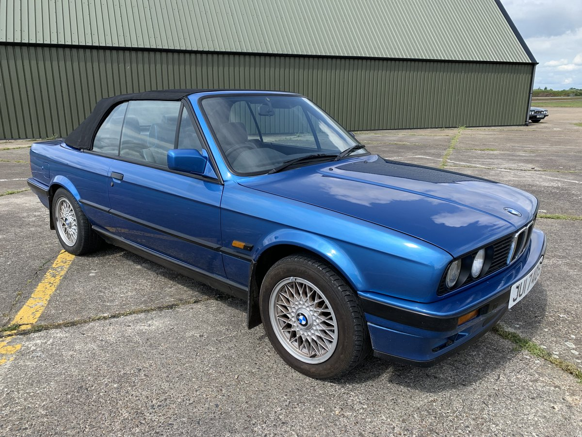 1991 BMW 318 E30 Cabriolet Convertible For Sale (picture 6 of 6)