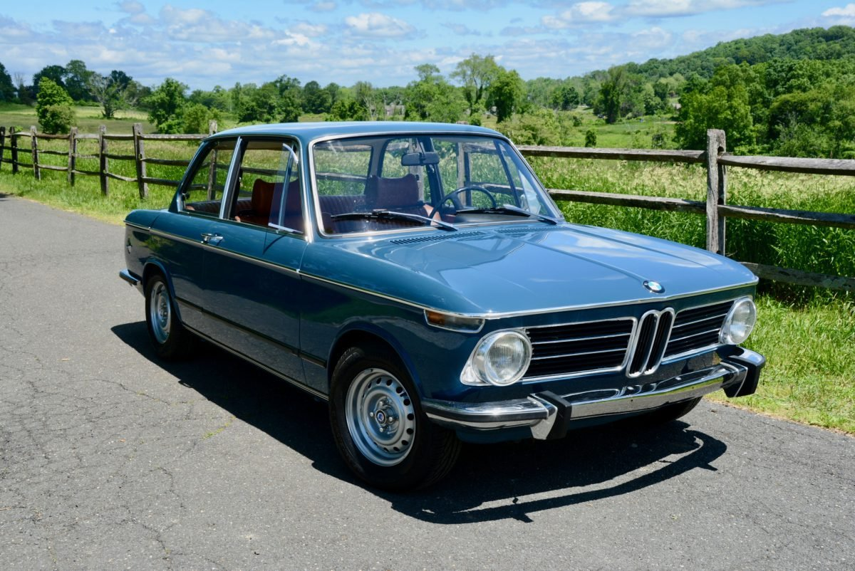 1973 BMW 2002 tii Coupe = Restored Blue(~)Tan + AC $obo For Sale (picture 1 of 6)