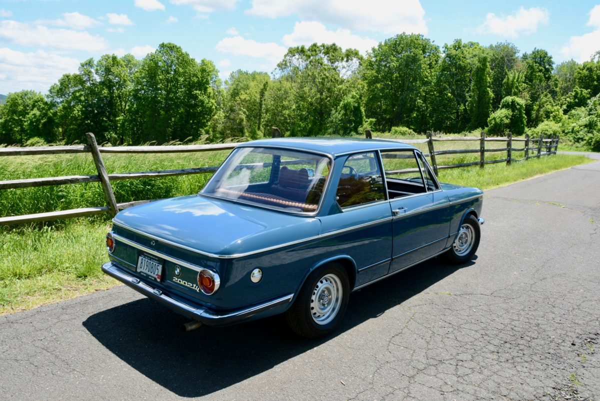 1973 BMW 2002 tii Coupe = Restored Blue(~)Tan + AC $obo For Sale (picture 2 of 6)