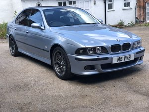 2000 BMW M5 Silverstone Blue For Sale