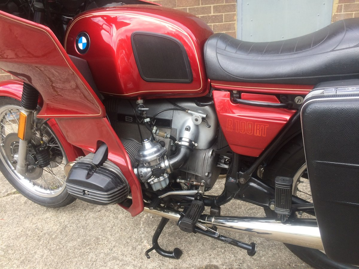 1980 Lovely BMW R100RT SOLD (picture 6 of 6)