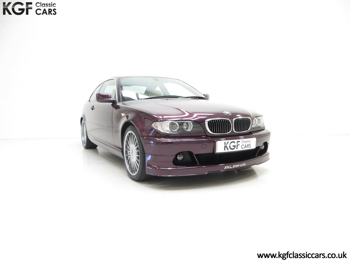 2004 A Very Exclusive BMW E46 Coupe Alpina B3 3.4 S SOLD (picture 1 of 6)