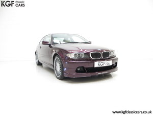 2004 A Very Exclusive BMW E46 Coupe Alpina B3 3.4 S SOLD