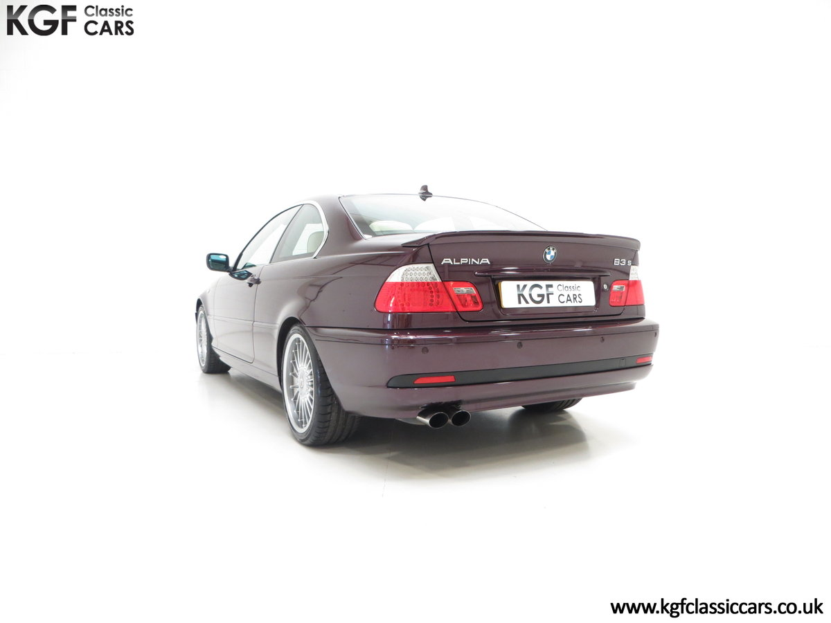 2004 A Very Exclusive BMW E46 Coupe Alpina B3 3.4 S SOLD (picture 4 of 6)