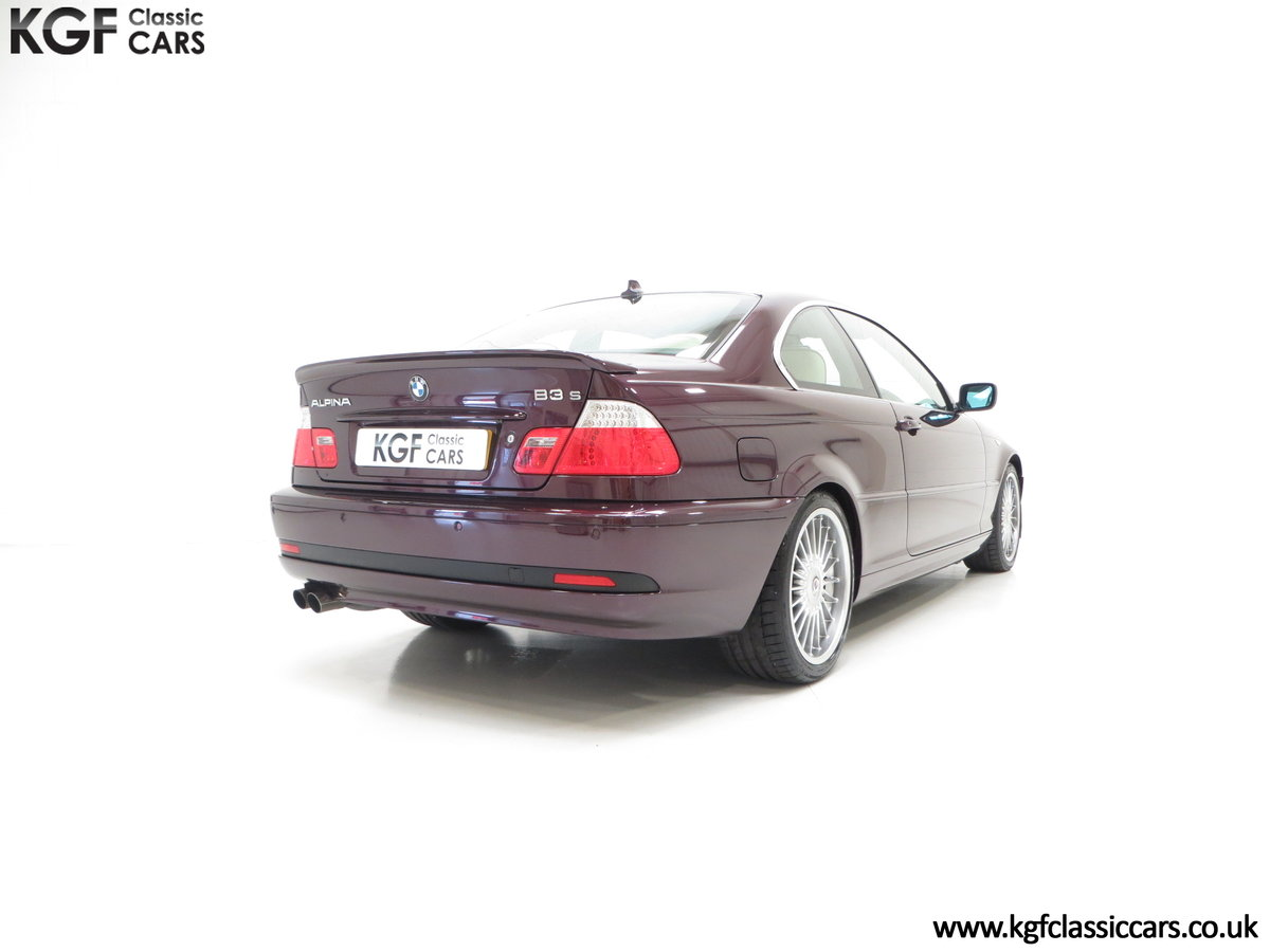 2004 A Very Exclusive BMW E46 Coupe Alpina B3 3.4 S SOLD (picture 5 of 6)