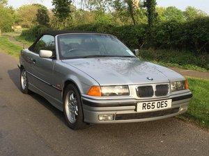 1997 BMW E36 328i Convertible at ACA 15th June