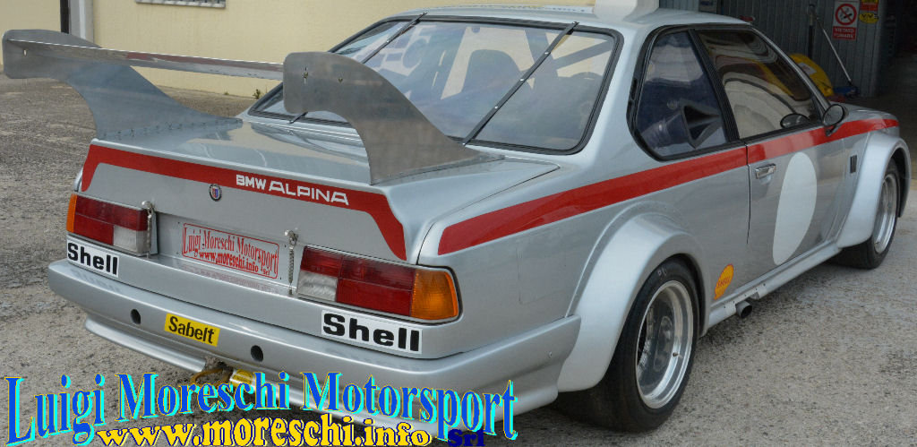 1981 BMW 635 Alpina Turbo B7/2 Gr5 For Sale (picture 3 of 6)