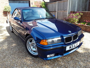 1995 Original condition E36 M3 3.0 convertible For Sale