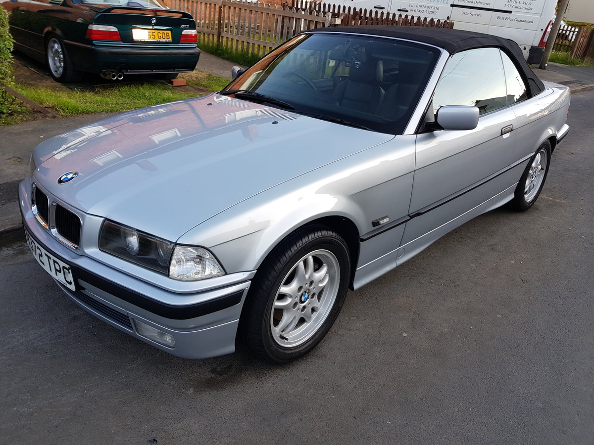 BMW E36 328i 2.8 1995 Convertible Manual With Hard For Sale (picture 1 of 6)