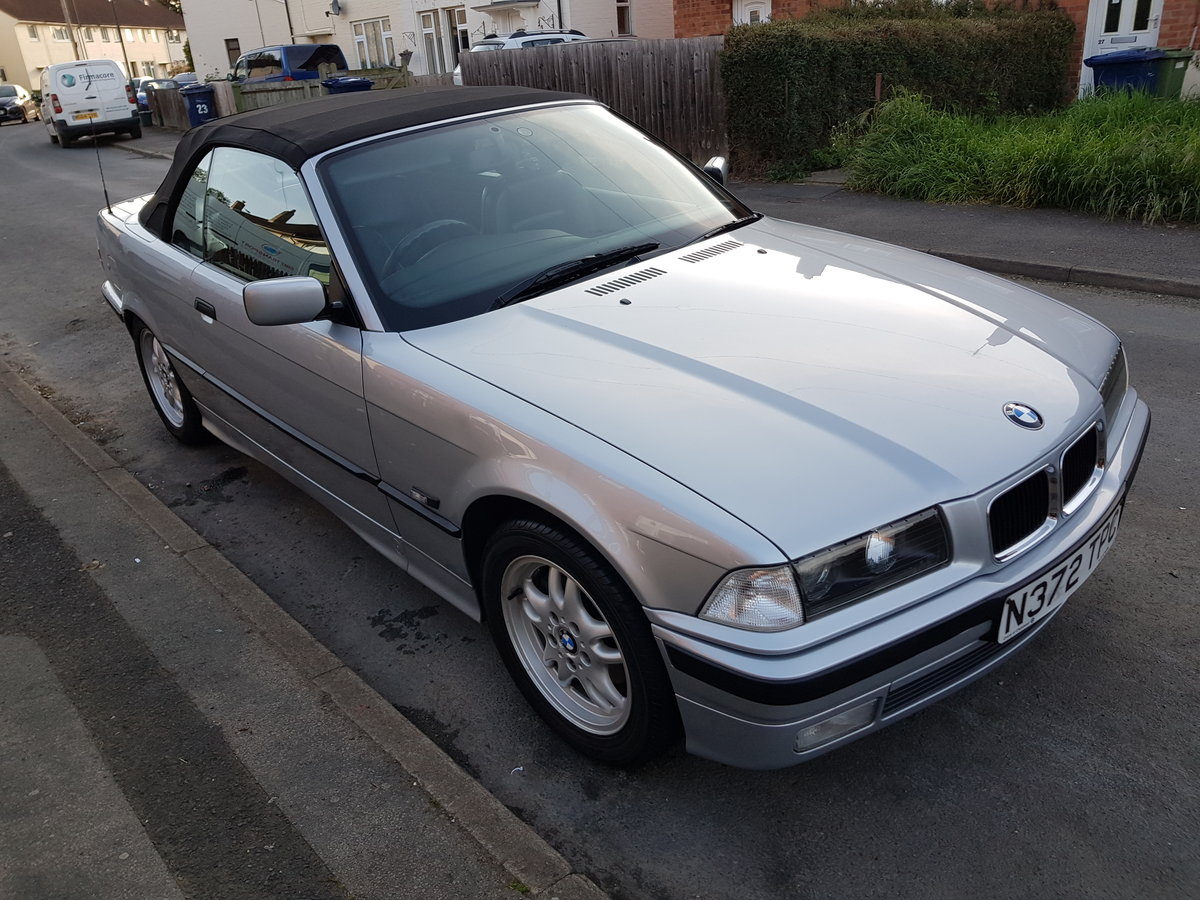 BMW E36 328i 2.8 1995 Convertible Manual With Hard For Sale (picture 2 of 6)