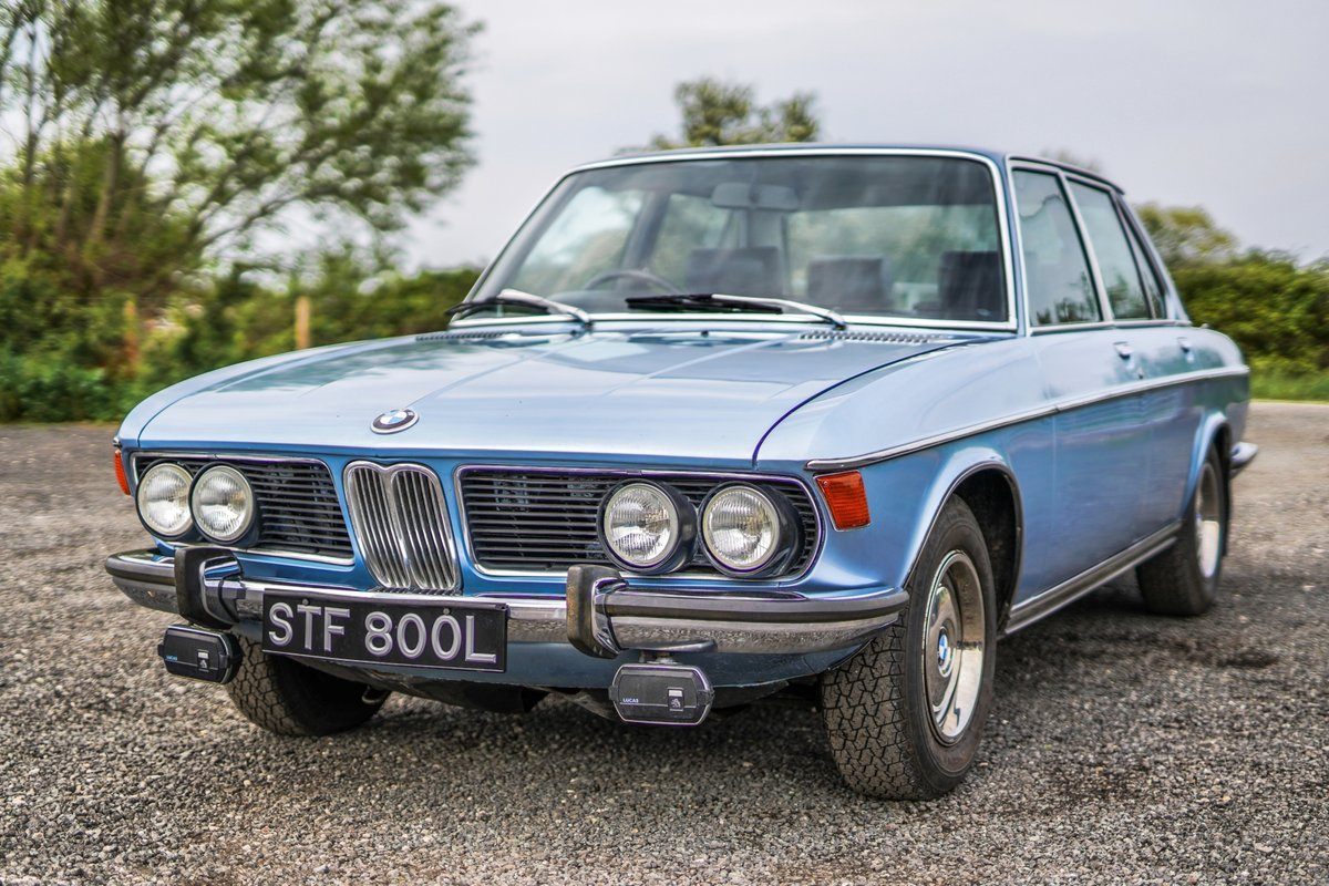 BMW New Six (E3) 3.0 S 1972 24,000 Miles from New (TIME WARP SOLD (picture 1 of 6)