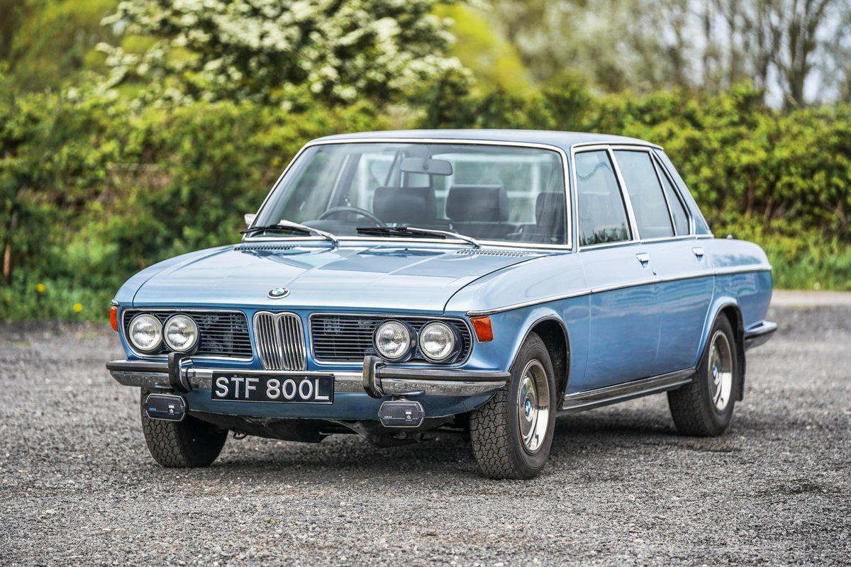BMW New Six (E3) 3.0 S 1972 24,000 Miles from New (TIME WARP For Sale (picture 4 of 6)