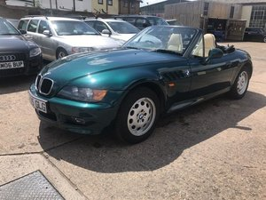1998 S-Reg BMW Z3 1.9 Convertible Automatic FSH 30000 miles from
