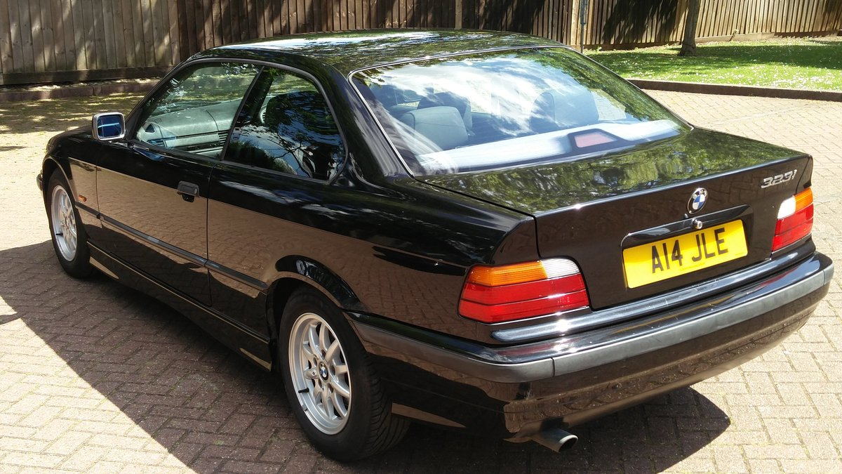 Bmw 323i 2.5 e36 coupe 1998 r reg met black / leat SOLD (picture 3 of 6)