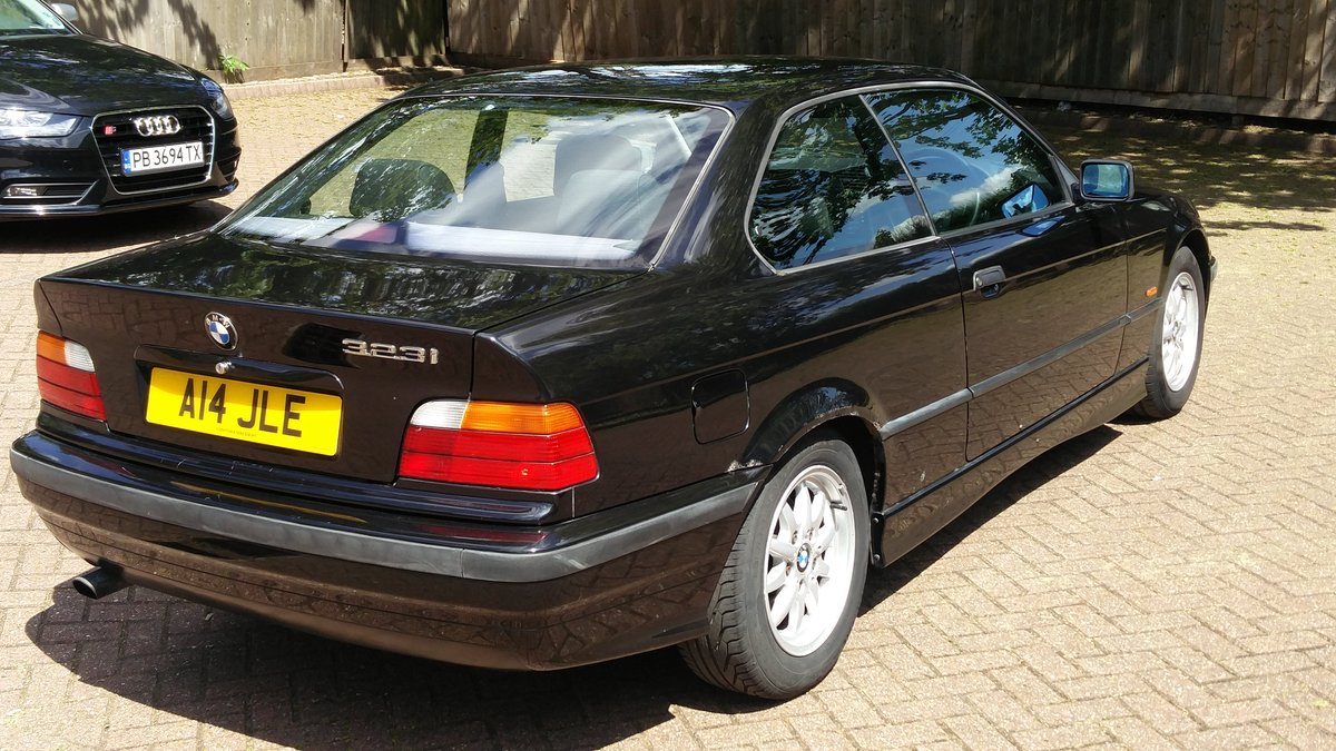 Bmw 323i 2.5 e36 coupe 1998 r reg met black / leat SOLD (picture 4 of 6)