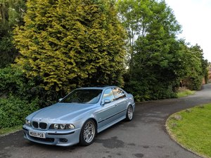 2000 BMW E39 M5 Silverstone Metallic  For Sale