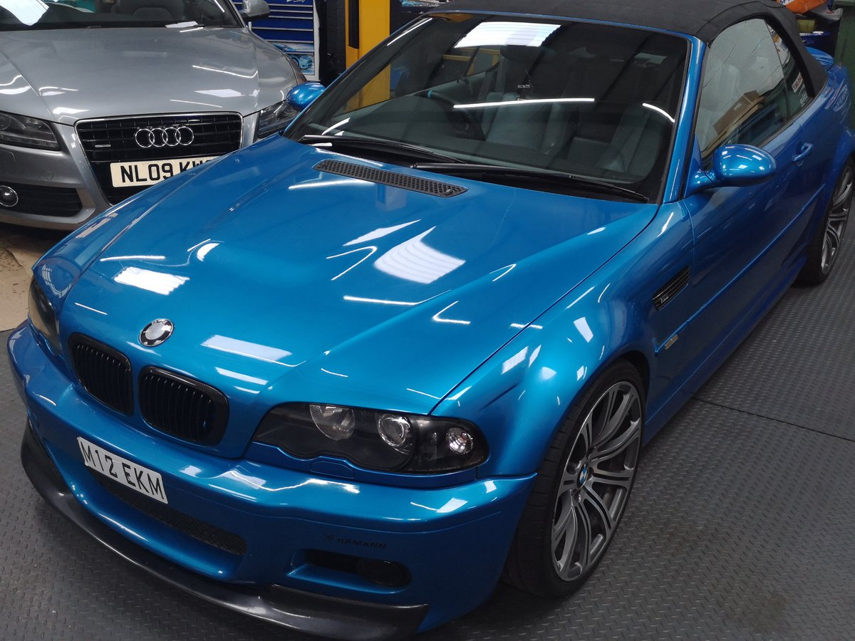 2003 Bmw E46 M3 Manual Convertible Rare Blue For Sale Car And Classic