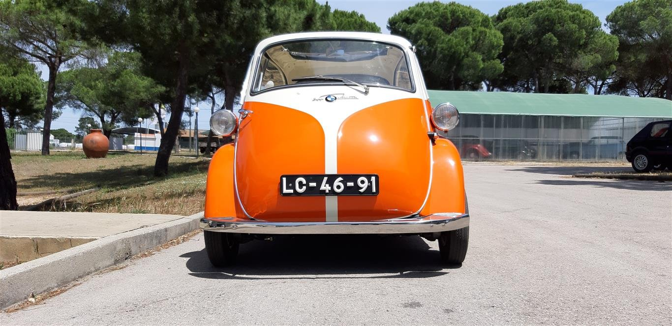 1958 BMW Isetta Mint condition For Sale (picture 3 of 6)
