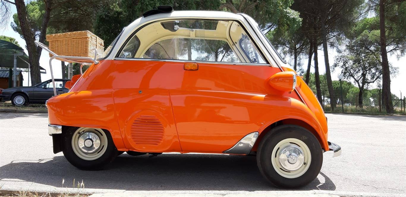 1958 BMW Isetta Mint condition For Sale (picture 5 of 6)