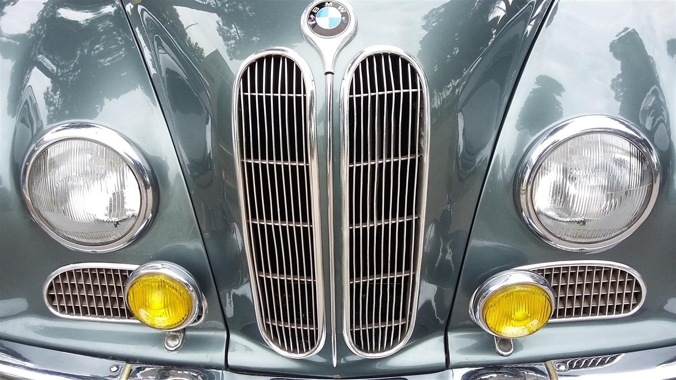1956 BMW 502 V8  3200 cc For Sale (picture 3 of 6)