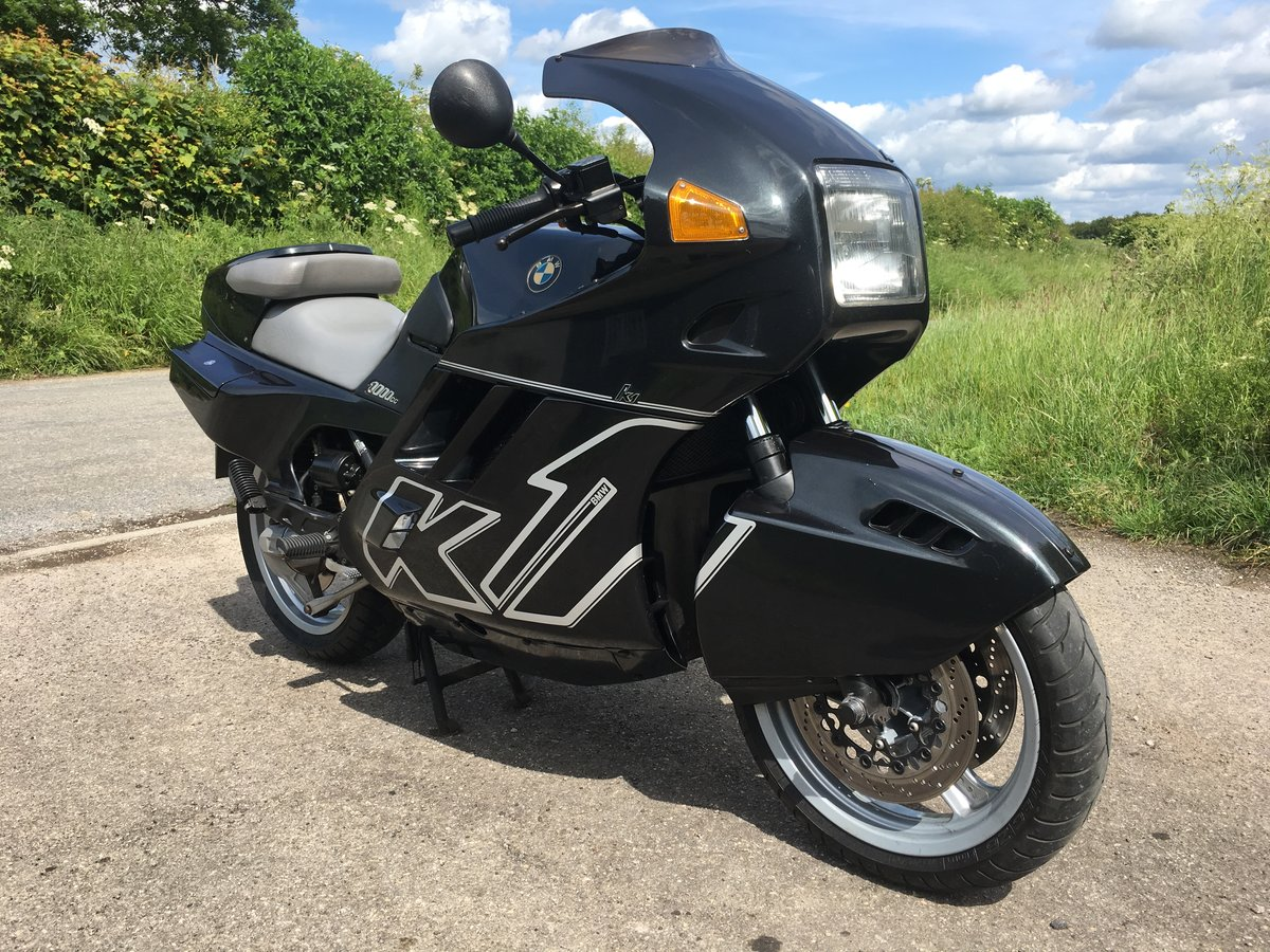 1991 Stunning BMW K1 1000cc UK bike fully sorted FSH For Sale (picture 1 of 6)