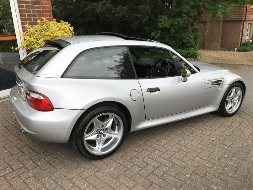 2000 BMW Z3M COUPE (Just 17,000 miles from new) For Sale (picture 4 of 6)