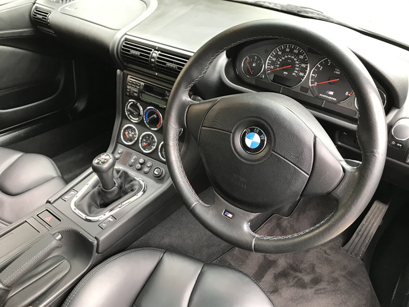 2000 BMW Z3M COUPE (Just 17,000 miles from new) For Sale (picture 5 of 6)