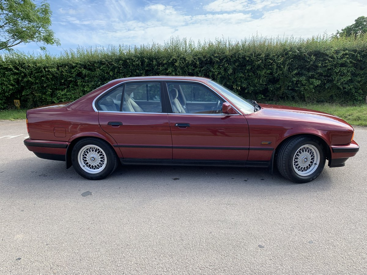 1992 BMW E34 5 Series 525i 69000miles Totally Original For Sale (picture 2 of 6)