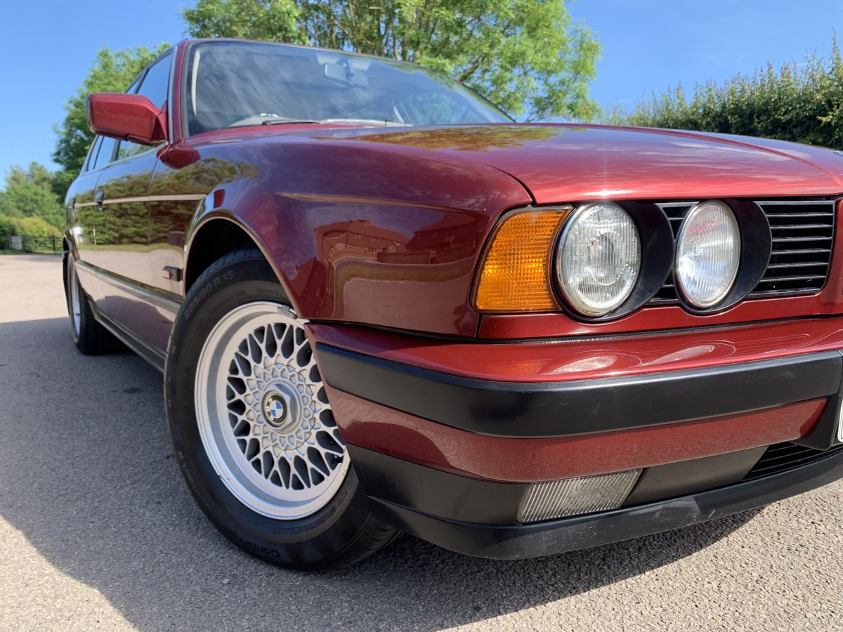 1992 BMW E34 5 Series 525i 69000miles Totally Original For Sale (picture 5 of 6)