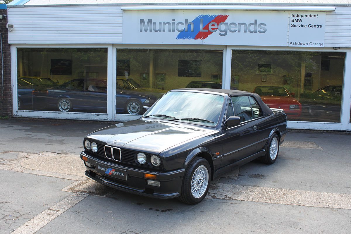 1990 BMW E30 325i Convertible For Sale (picture 1 of 6)