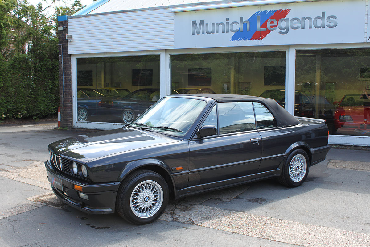 1990 BMW E30 325i Convertible For Sale (picture 5 of 6)