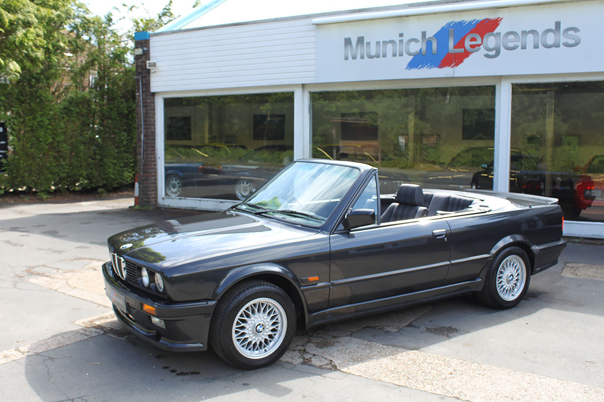 1990 BMW E30 325i Convertible For Sale (picture 6 of 6)