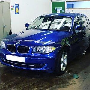 2011 BMW 118d sport - Blue