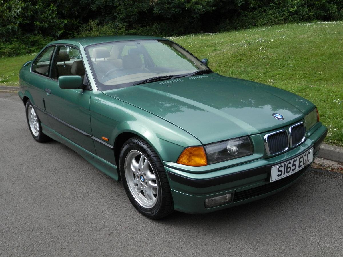 BMW E36.. 318iS AUTO COUPE.. RARE COLOUR.. M-TECH SUSPENSION SOLD (picture 2 of 6)